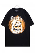 MISHKA DEATH SKULL T-SHIRTS BLACK