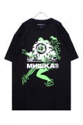 MISHKA KRYPT WATCH T-SHIRTS BLACK