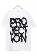 PassCode PROJECTION TEE(WHITE)