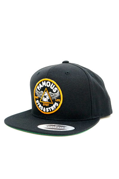 FAMOUS STARS AND STRAPS PIT STOP SNAPBACK