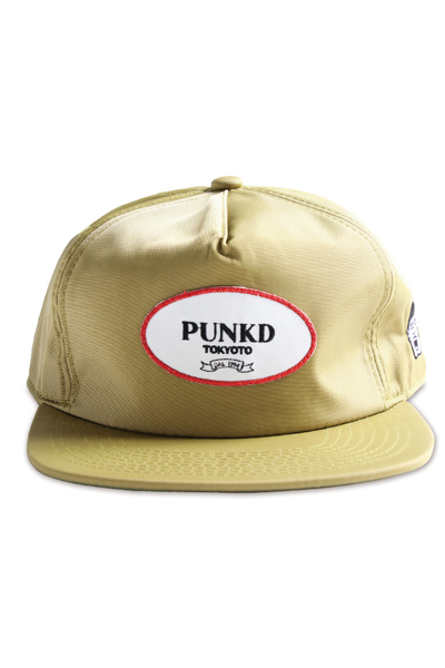 PUNK DRUNKERS オシャレワッペンCAP OLIVE