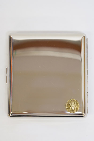 ANIMALIA AN16A-AC11 Cigarette Case #001 SILVER