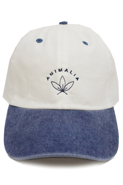 ANIMALIA AN16A-CP07 Low cap #001 WHITExNAVY