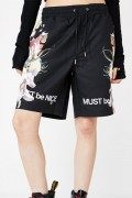 RIPNDIP HEAVINLY BODIES SHORTS BLACK