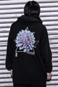 アマツカミ 蒼菊/Chrysanthemum Hoodie