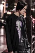 アマツカミ  髑髏/Skull  L/S T-shirts