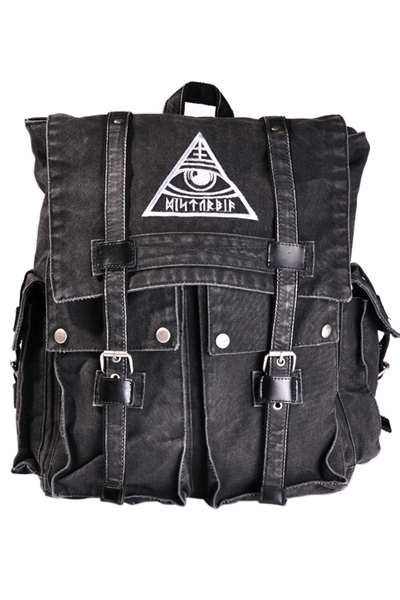 DISTURBIA CLOTHING ALL-SEEING BACKPACK