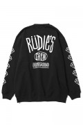 RUDIE'S DRAWING CREW SWEAT BLACK
