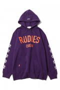 RUDIE'S BRIGHT PHAT HOOD SWEAT PURPLE