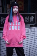 ROLLING CRADLE RLIG CDLE PIGMENT HOODIE / Red