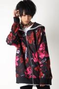 TRAVAS TOKYO KILL RIBBONS 総柄セーラー襟ブルゾン Red