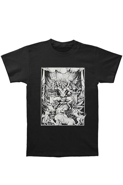 CVLT Nation HOLY FIRE T-SHIRT BLK