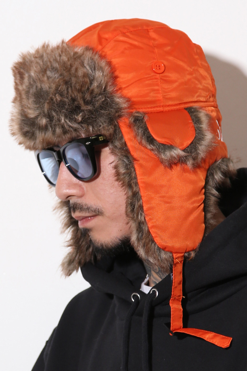 Subciety (サブサエティ) TROOPER HAT ORANGE