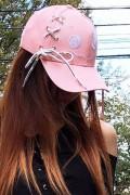 NieR BRAID CAP PINK