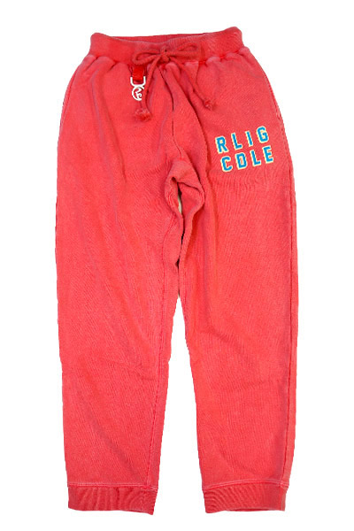 ROLLING CRADLE RLIG CDLE PIGMENT SWEAT PANTS / Red