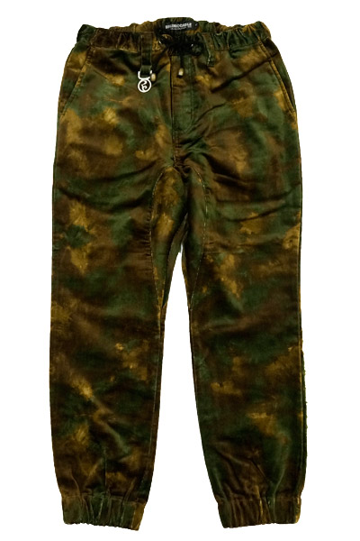 ROLLING CRADLE MELT CAMO JOGGER PANTS / Brown