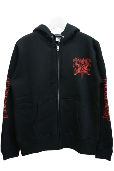 THRASHER TH96177 BLK/RED