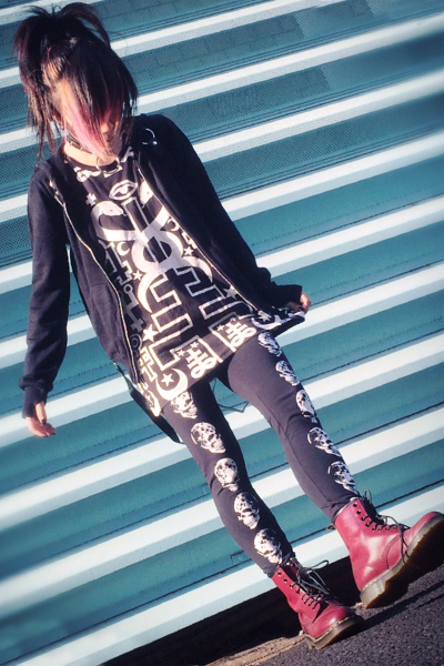 KILL STAR CLOTHING(キルスター・クロージング) LUNA MORTE Leggings [B]