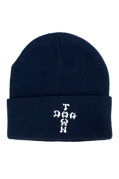 DOGTOWN 2BEDOCLET BEANIE CROSS LETTERS NV
