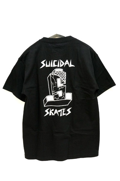 SUICIDAL TENDENCIES×DOGTOWN 2SSDTST2 DTST TEE BLK