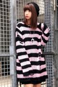 KILL STAR CLOTHING Courtney Distress Knit Sweater [B]