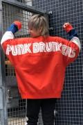 PUNK DRUNKERS PDSたっぷりトレーナー ORANGE