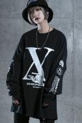 DI:VISION HE-X-EN LS TEE BLACK