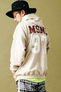 MUSIC SAVED MY LIFE M101-01K5-CL51 BIG HOODIE BEIGE