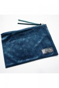 SLEEPING TABLET PATIENT [ VELOUR POUCH ] NAVY