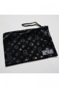 SLEEPING TABLET PATIENT [ VELOUR POUCH ] BLACK