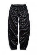 SLEEPING TABLET PATIENT [ VELOUR EASY PANTS ] BLACK
