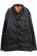 TOY MACHINE TMF18JK21 COACH JACKET(INSULATION) BLACK