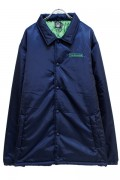 TOY MACHINE TMF18JK21 COACH JACKET(INSULATION) NAVY