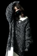 SILLENT FROM ME VEIN -Cable Knit Sweater- MIXED