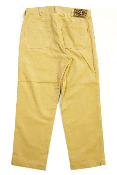 ROLLING CRADLE RC WIDE CORDUROY PANTS / Beige