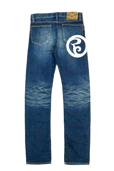 ROLLING CRADLE THUNDER GATE DENIM 2nd type / Indigo(W)