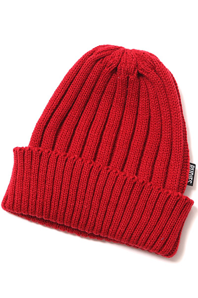 RUDIE'S WASTE KNITCAP RED