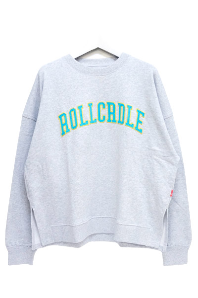 ROLLING CRADLE ROLLCRDLE BIG SWEAT / Gray
