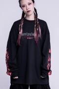 "KAVANE Clothing ""manipulation""Long Sleeve(Red)"