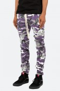 mnml(ミニマル) CARGO DRAWCORD PANTS PURPLE