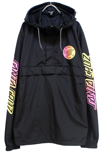 SANTA CRUZ STRIP FADE LS JKT BLACK