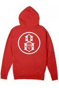 REBEL8 Eternal Logo Pullover Red