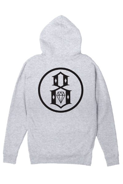REBEL8 Eternal Logo Pullover Athletic Heather