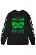 REBEL8 Society Is A Menace Longsleeve Tee Black
