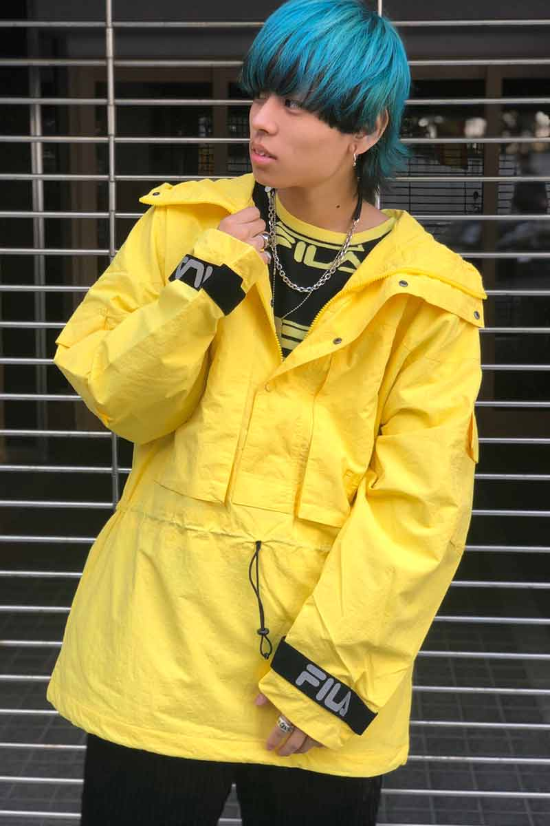 FILA FM9675 JACKET YELLOW