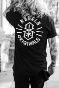 REBEL8 Lords Tee Black