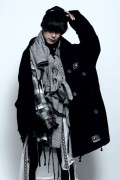 SILLENT FROM ME WANDER -Military Coat- BLACK