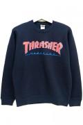 THRASHER TH94206 BAR MAGLOGO SWEAT NAVY