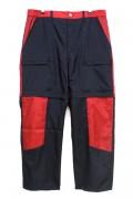 NOT COMMON SENSE NS NYLON PANTS BLACK / RED