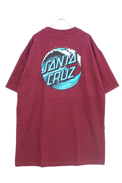 SANTA CRUZ WAVE DOT SS BURGUNDY